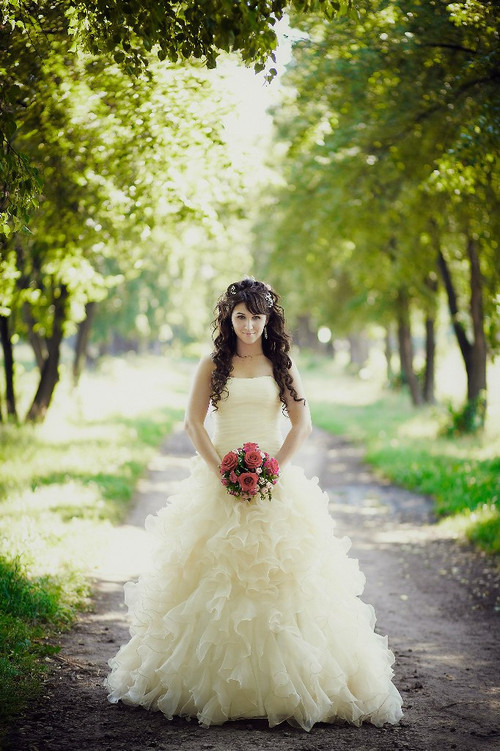Gold yellow halloween and orange wedding dresses pale yellow wedding dress available in every color junglespirit Images