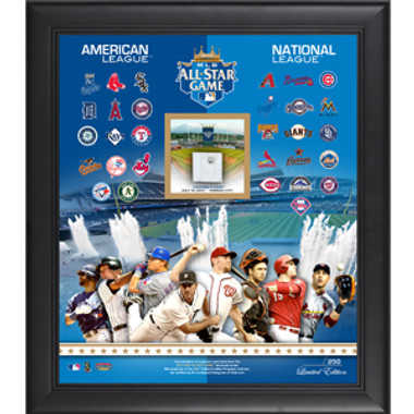 2012 MLB All-Star Game Limited Edition Plaque