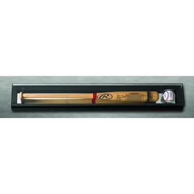Elite Single Baseball Bat and Baseball Display Case