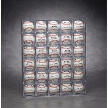 30 Baseball Display Case - Wall Mountable - Front Loading