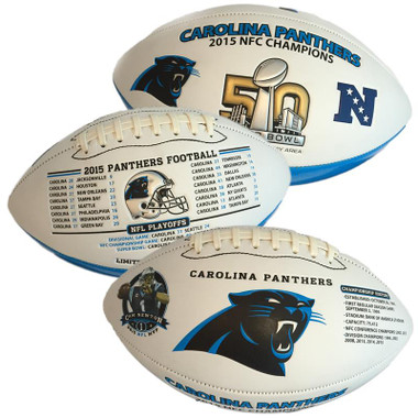 Carolina Panthers NFC Champ and Super Bowl Appearance Football