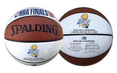 Golden State Warriors Spalding 2018 Championship Basketball