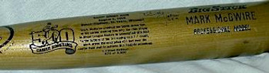 Mark Mcgwire 500th Home Run Rawlings Bat