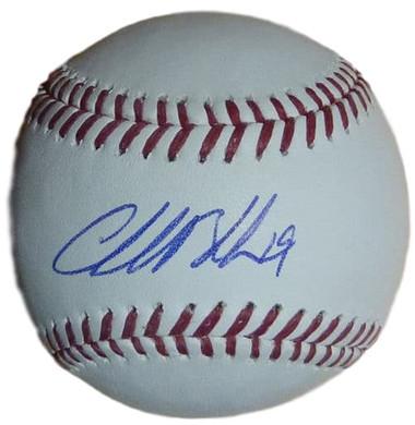 Charlie Blackmon Colorado Rockies CF Autographed Baseball