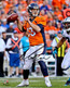 "Trevor Siemian Denver Broncos Autographed 8"" x 10"" Orange Vertical Photograph"