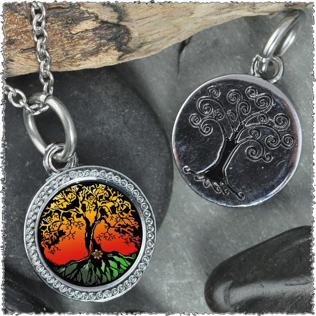 "Tree of Life Color ""Tree"" Pendant"