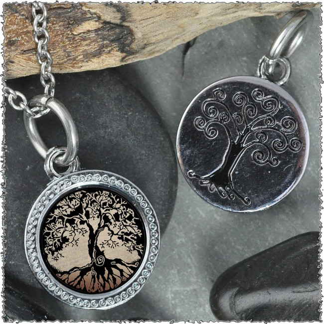 "Tree of Life Brown ""Tree"" Pendant"