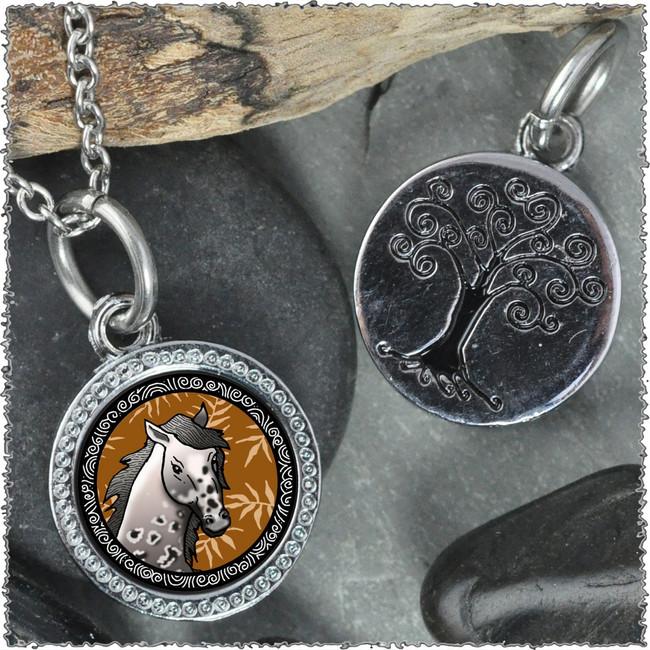 """Horse """"Tree"""" Pendant"""