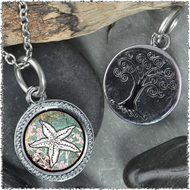 "Starfish ""Tree"" Pendant"