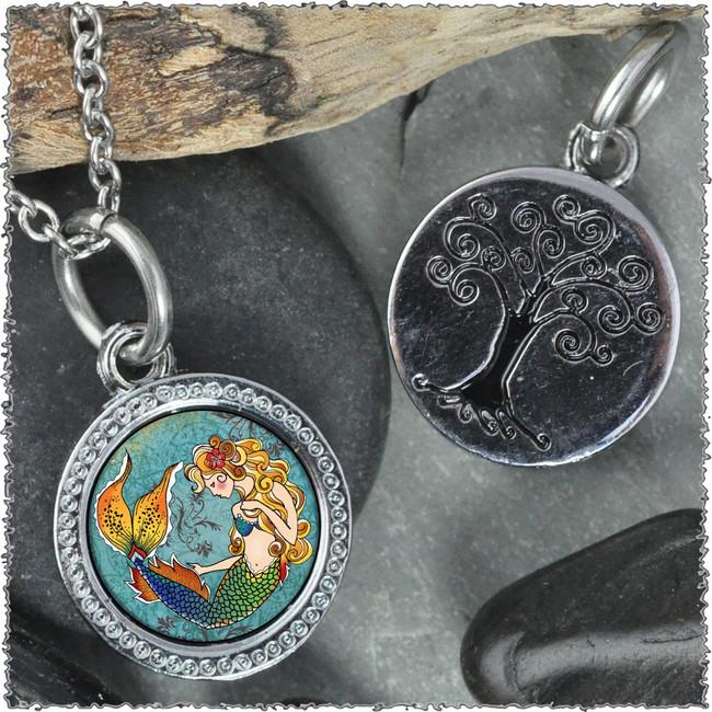 """Mermaid """"Tree"""" Pendant"""