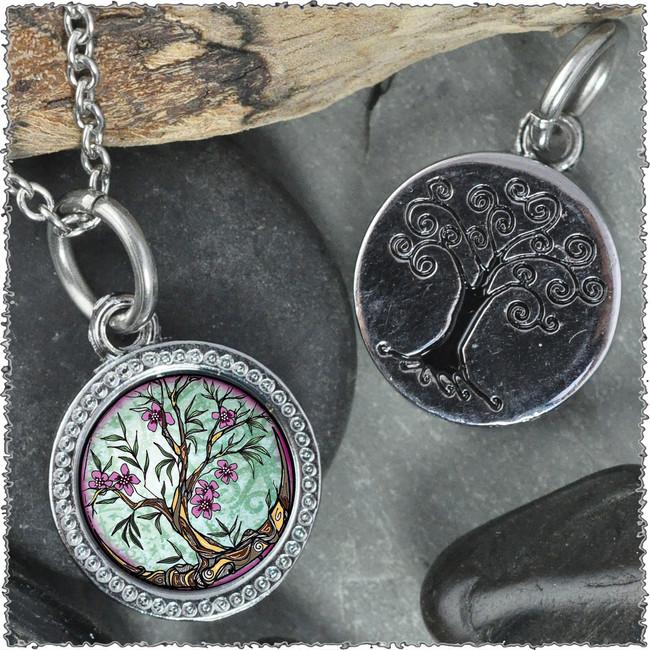 "Tree of Life Fusia ""Tree"" Pendant"