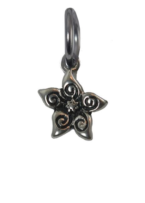 Jasmine Flower Stainless Steel Charm