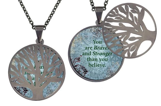 Poetry Tree- You Are Braver And Stronger Than You Believe