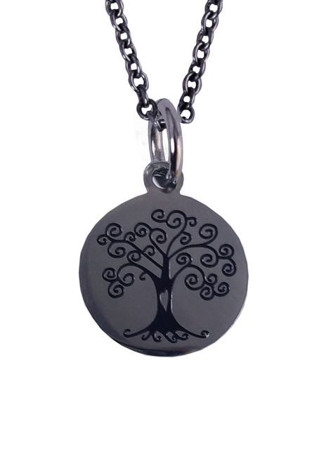 Tree Stainless Steel Charm