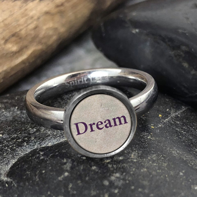 Dream Stainless Art Ring