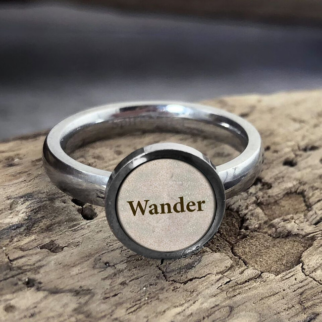 Wander Stainless Art Ring