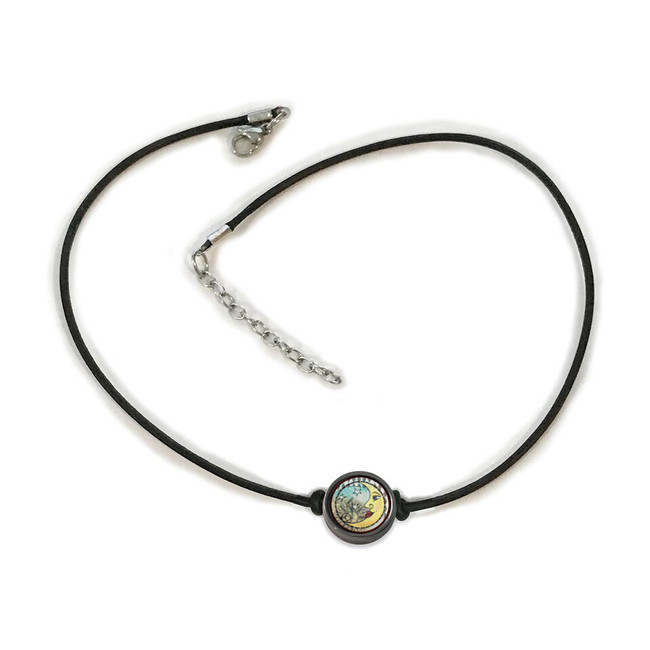Blue Moon Choker Necklace