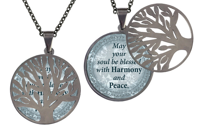Poetry Pendant- May Your Soul Be Blessed