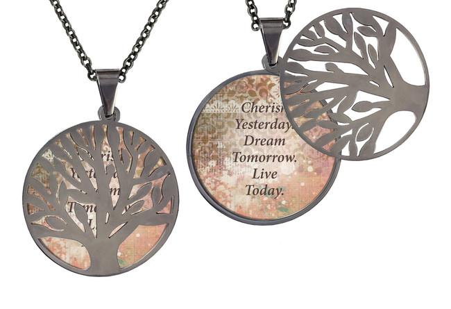 Poetry Tree- Cherish Yesterday Dream Tomorrow Live Today