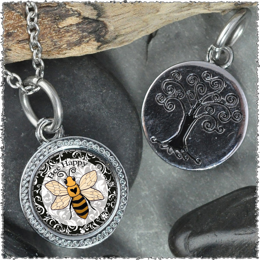 """Bee """"Tree"""" Pendant"""
