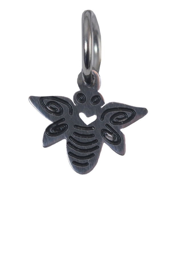 Bee Stainless Steel Charm
