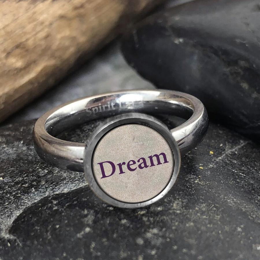 Dream Stainless Art Ring