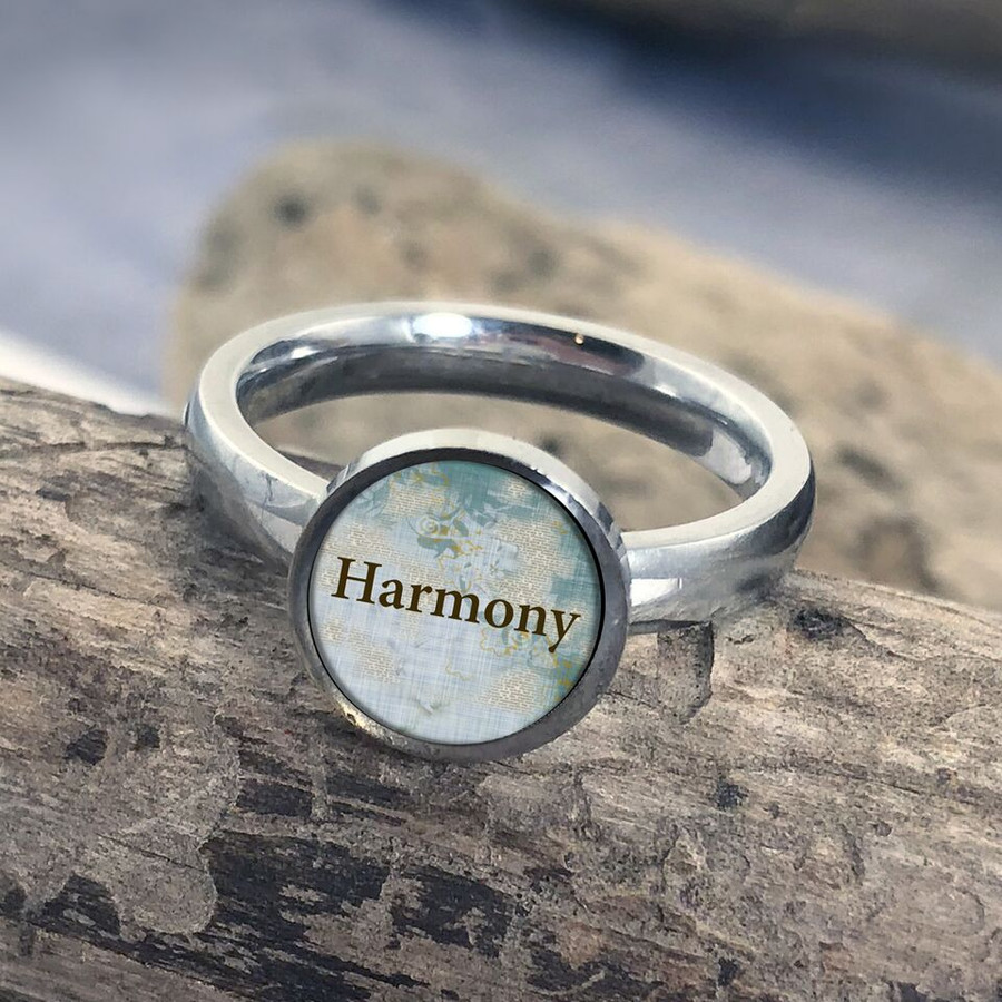 Harmony Stainless Art Ring