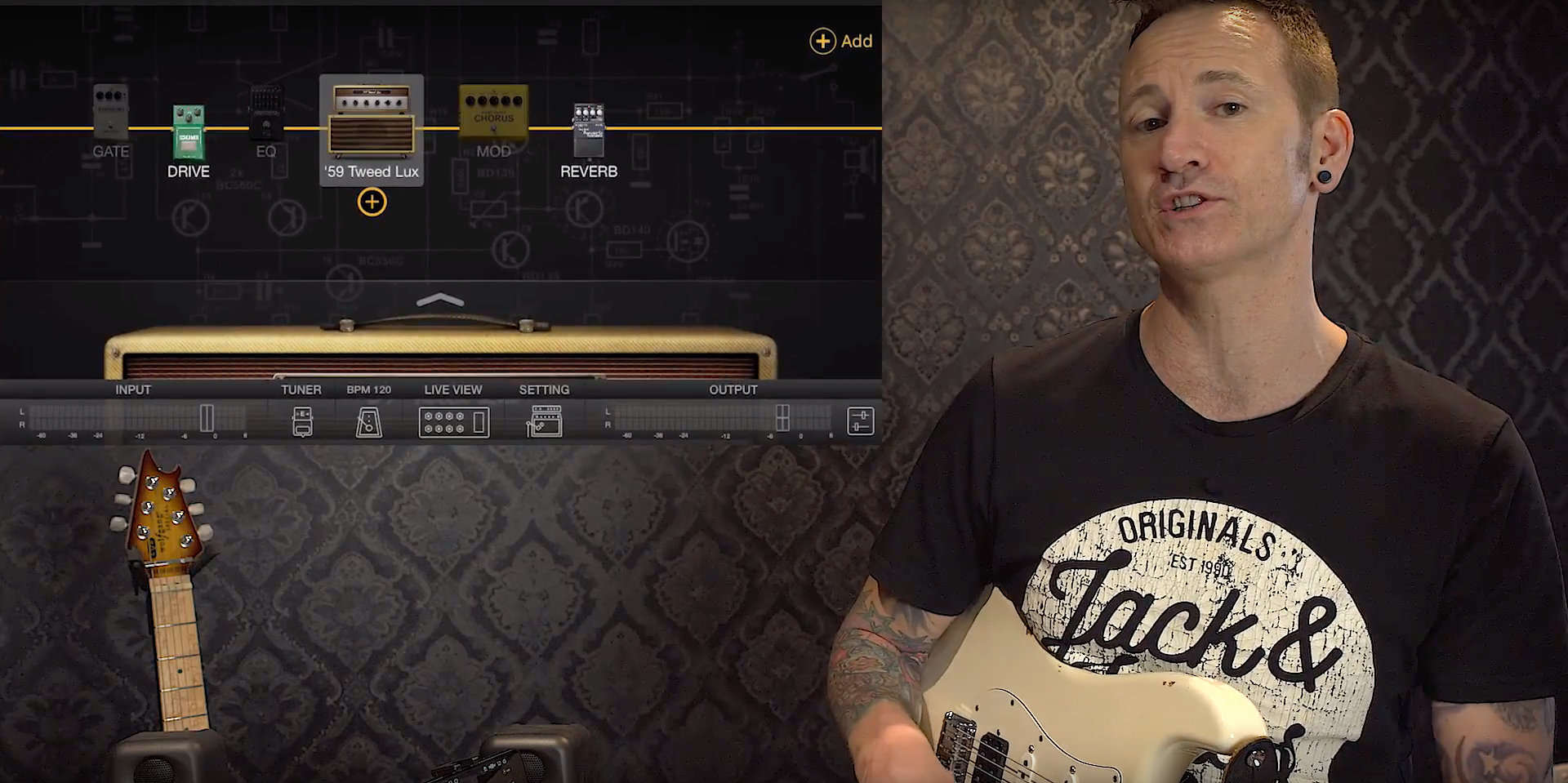BIAS FX Mobile | James Ryan overview and tone demo