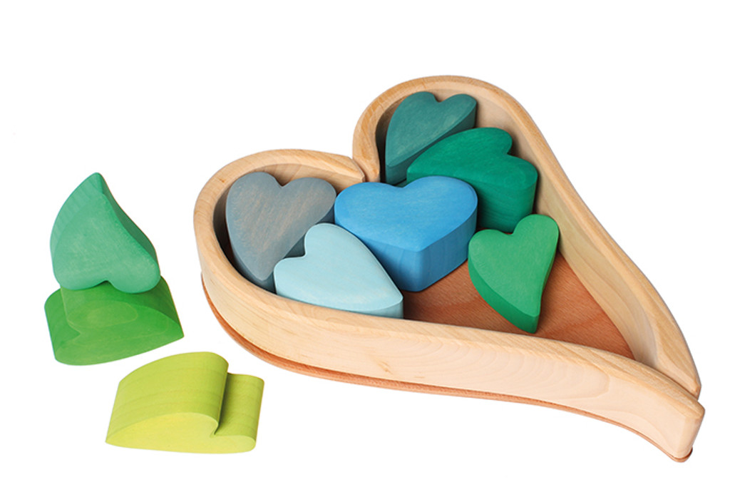 Grimm's Building Set Hearts