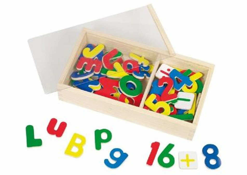 Goki Magnetic Letters and Numbers