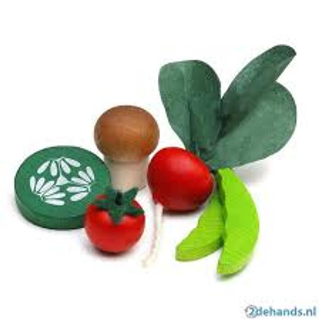 Erzi Vegetables in a tin