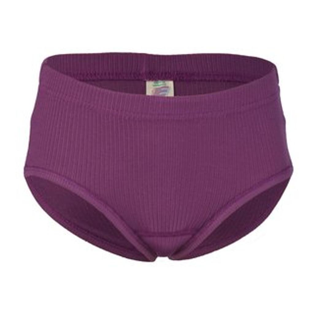 Engel Organic Cotton Girl's Panties - Fuchsia