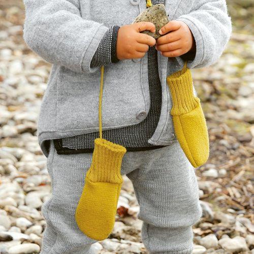Disana Boiled Wool Baby Gloves