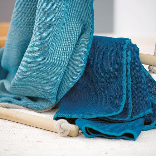 Disana Merino Wool Baby Blanket - Melange (more colours)