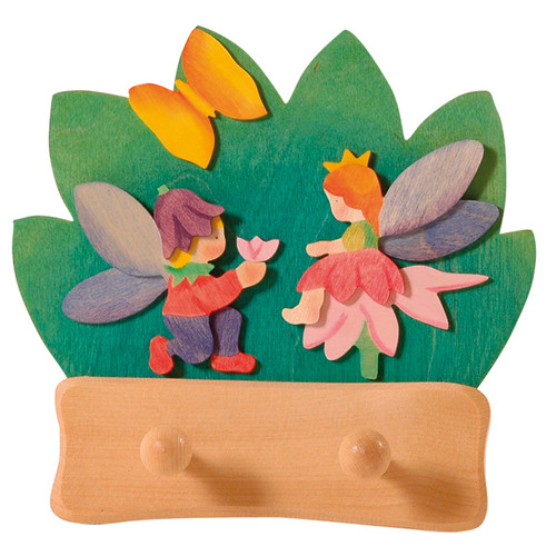 Ostheimer Coat Rack - Fairy (2 hooks)