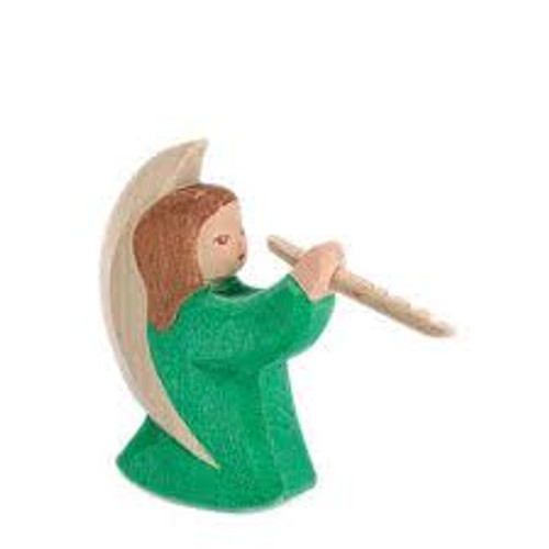 Ostheimer Angel with Flute  (Green)