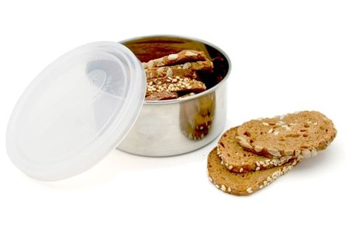 U Konserve Round Stainless Steel Container - Clear