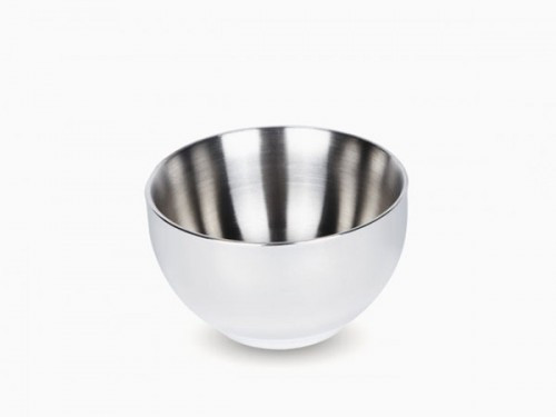 Onyx Double Walled Stainless Steel Bowl