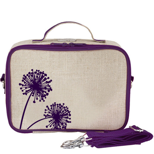 So Young Raw Linen Lunch Box - Dandelion