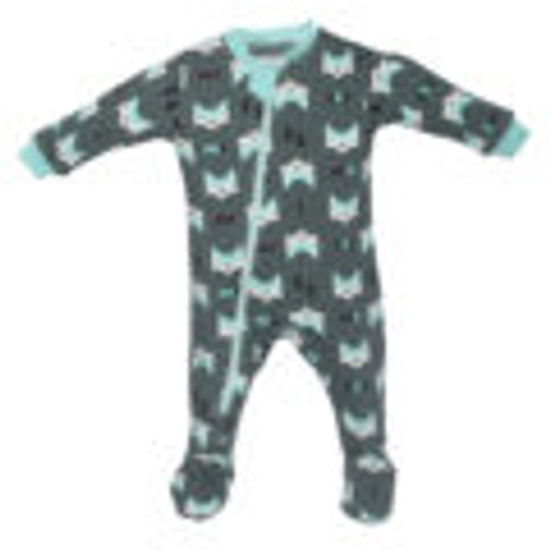 Zippyjamz Organic Cotton Pajama - Fox