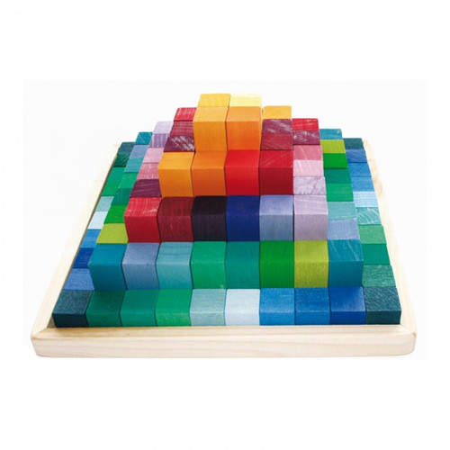 Grimm's Stepped Pyramid Building Set
