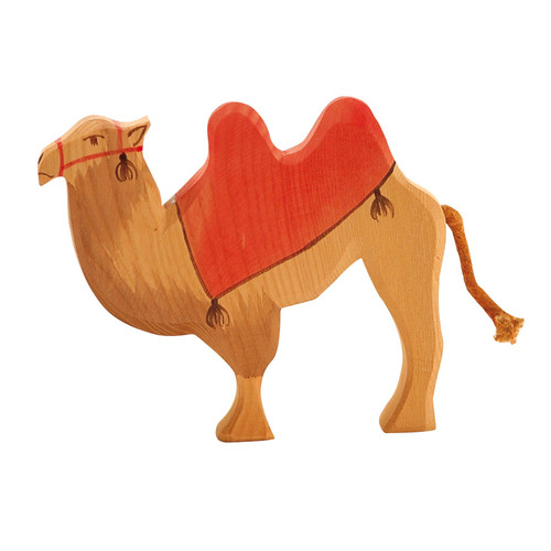 Ostheimer Wooden Camel With Saddle