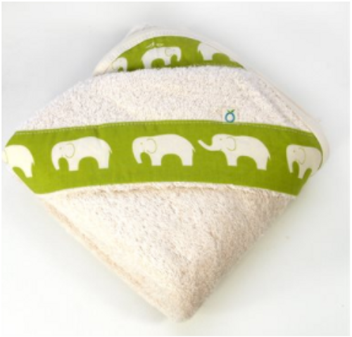Organic Cotton Hooded Towel