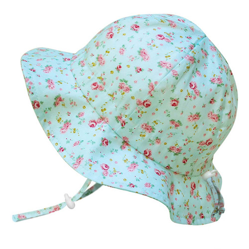 Twinklebelle Cotton Sun Hat - Retro Rose