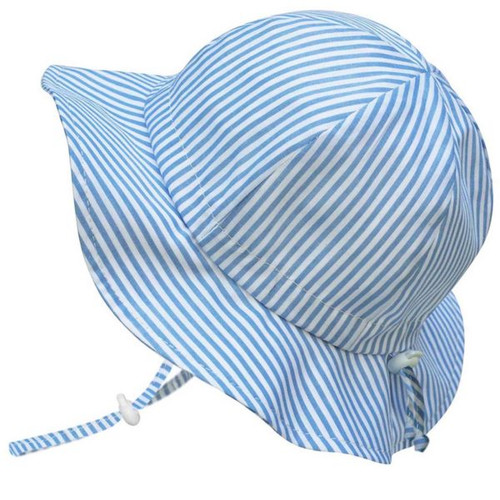 Twinklebelle Cotton Sun Hat - Blue Stripe
