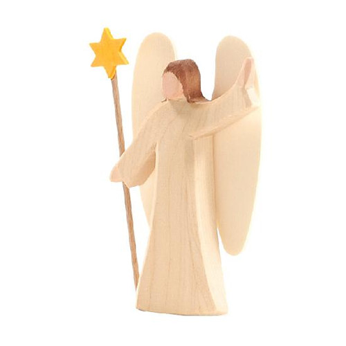 Ostheimer Small Angel with Star (White)