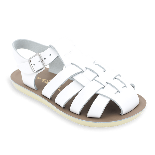 Salt Water Sandals - Sailor - White