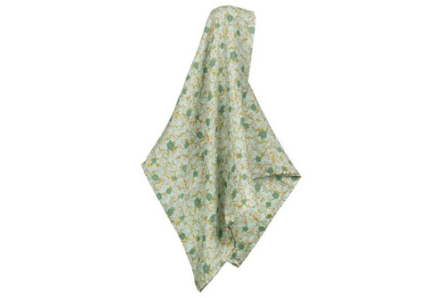 Milkbarn Bamboo Swaddle - Blue Floral