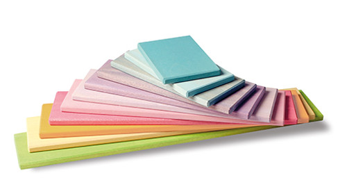 Grimm's Building Boards - Pastel