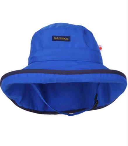 Snug As A Bug SPF 50 Adjustable Nylon Hat - Royal Blue